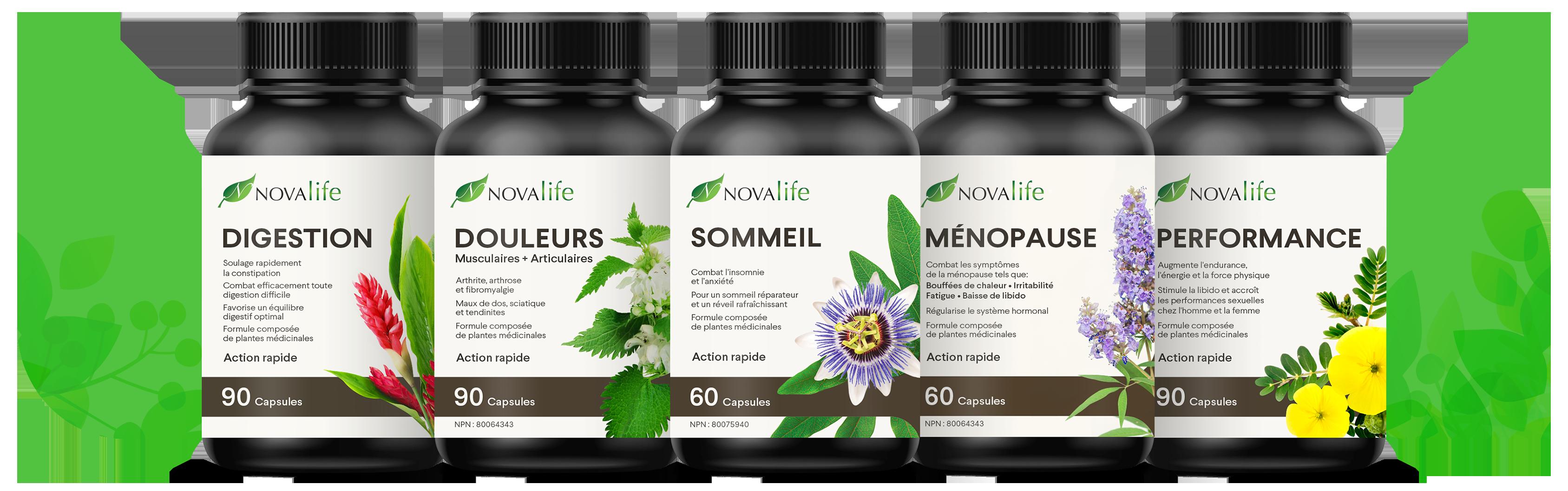 Produits anti-inflammatoires naturels pour soulager les douleurs | Novalife