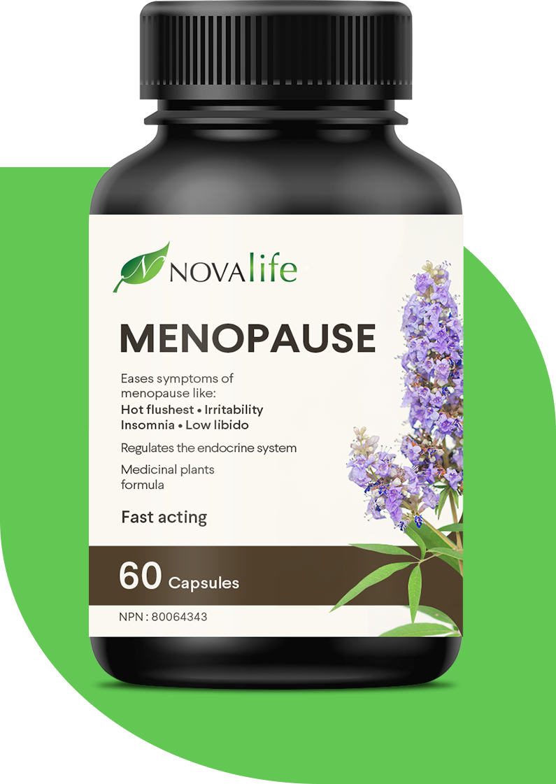 Natural product to eases symptoms of menopause