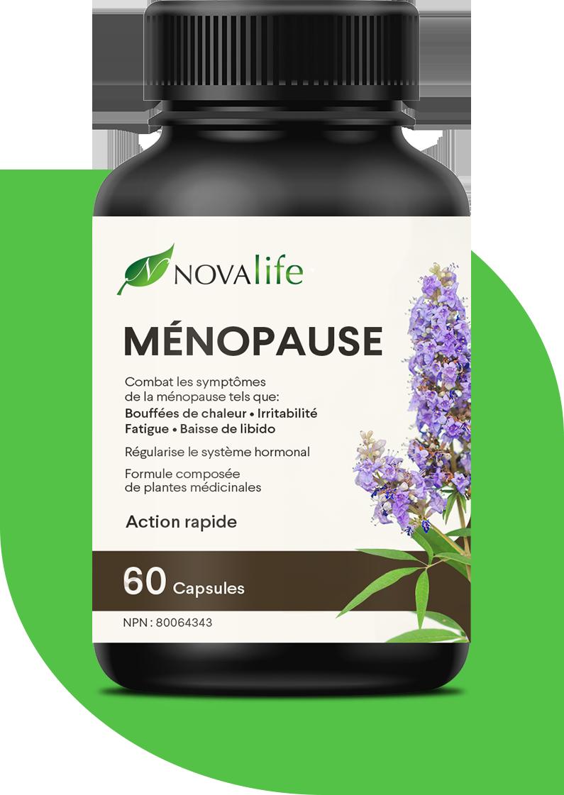 Produit naturel pour combattre les symptômes de la ménopause