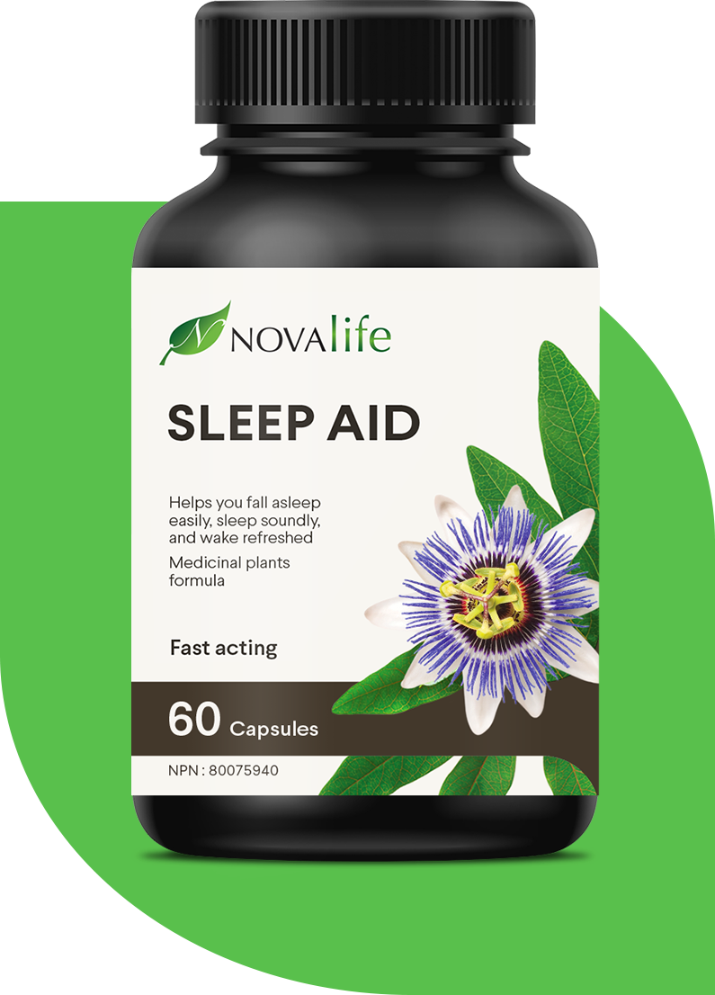Powerful synergy of 4 medicinal plants that help you to sleep